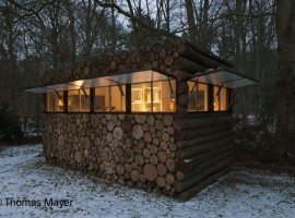 tree trunk garden house 10