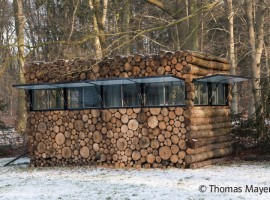 tree trunk garden house 14