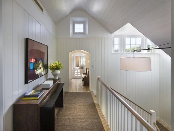 white gallery beach style hall
