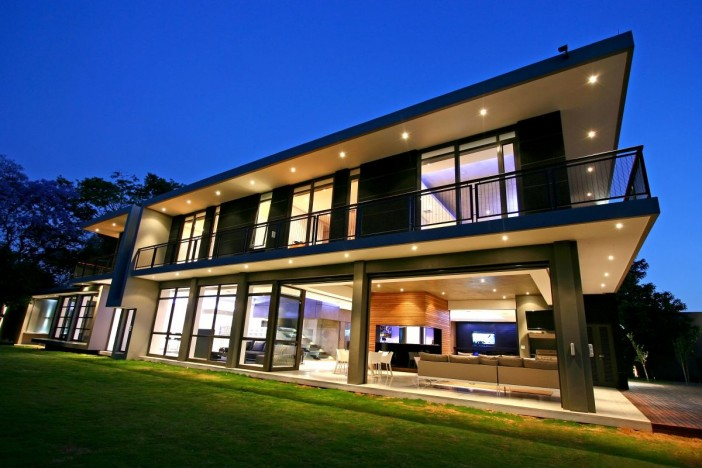 exterior design of beautiful modern residence in johannesburg 01