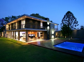 beautiful modern residence in johannesburg 04