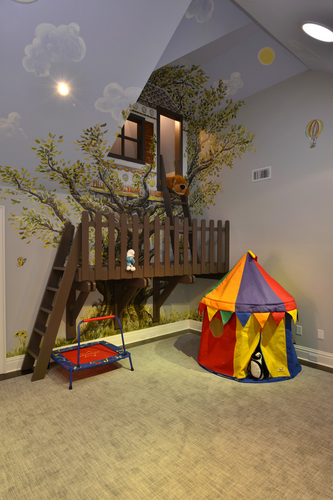 elaborate scarsdale renovation traditional kids bedroom