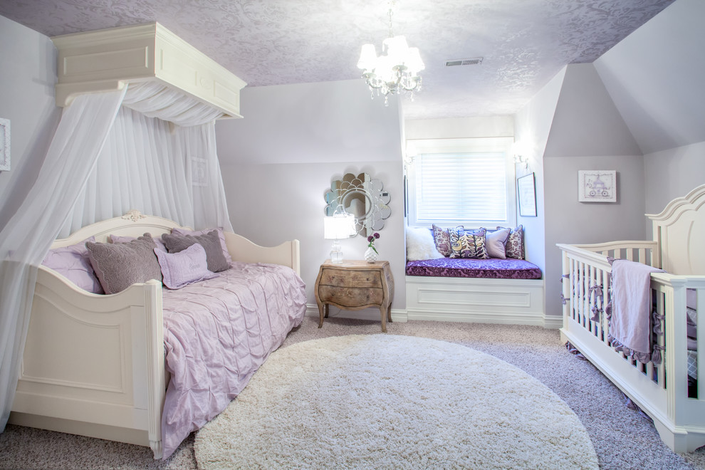 french country european style home traditional kids bedroom - Traditional Kids Room Interior