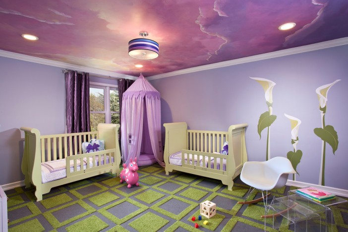 long island residence contemporary kids bedroom cielings