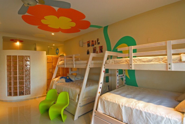 mexican design architecture eclectic kids bedroom