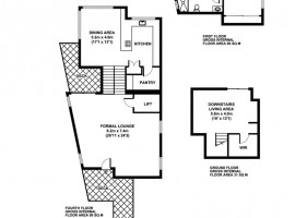 modern three story house 15