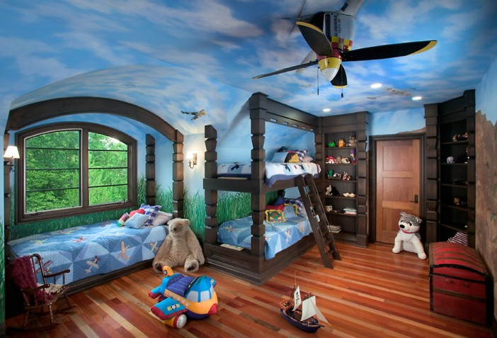 visbeen architects traditional kids bedroom tree house