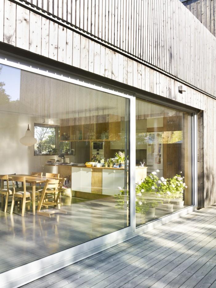 beautiful wood house unit arkitektur ab 03