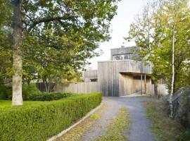 wood house unit arkitektur ab 14