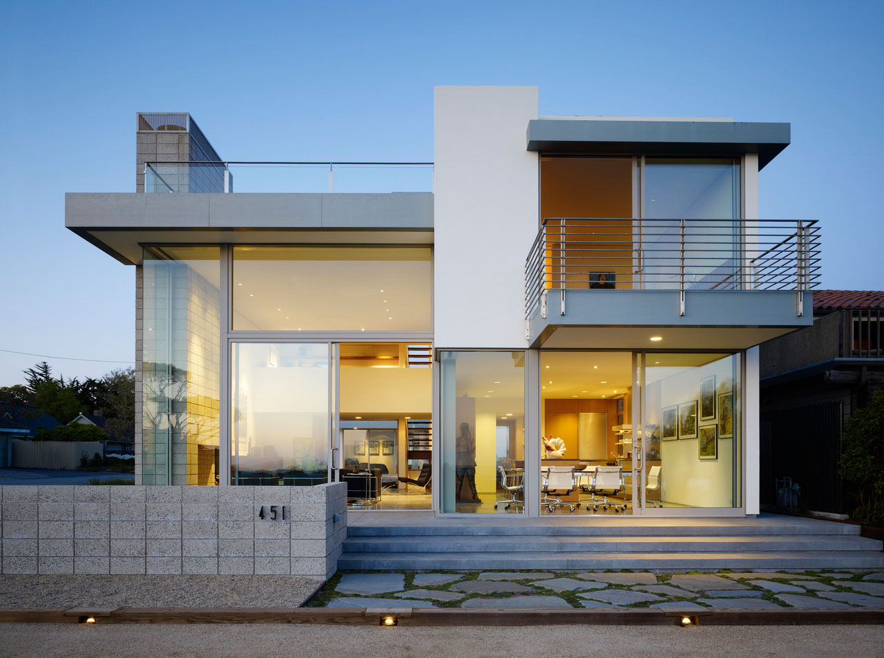 Zeidler Residence In Aptos California By Ehrlich Architects