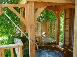 cabane et spa tree house 11