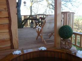 cabane et spa tree house 13