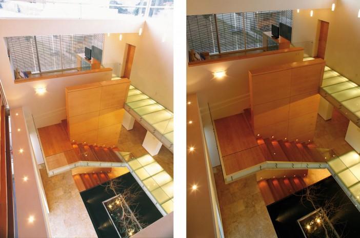 casa paredes tres ocho staircase design 12