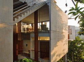 concrete home in ubatuba 09