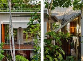 concrete home in ubatuba 10