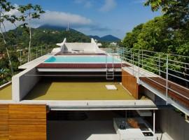 concrete home in ubatuba 18