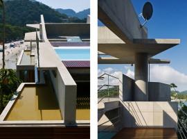 concrete home in ubatuba 19