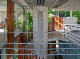 concrete home in ubatuba 25