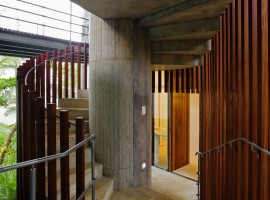 concrete home in ubatuba 26