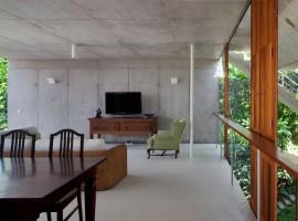 concrete home in ubatuba 30
