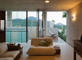 concrete home in ubatuba 31