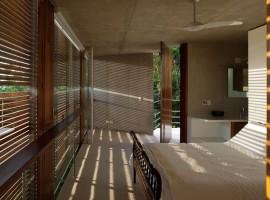 concrete home in ubatuba 32