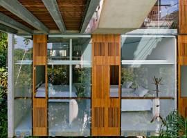 concrete home in ubatuba 35