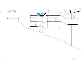 concrete home in ubatuba 39