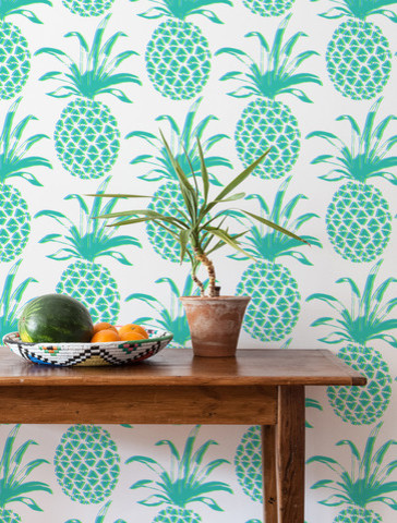 eclectic wallpaper pinapple wallpaper