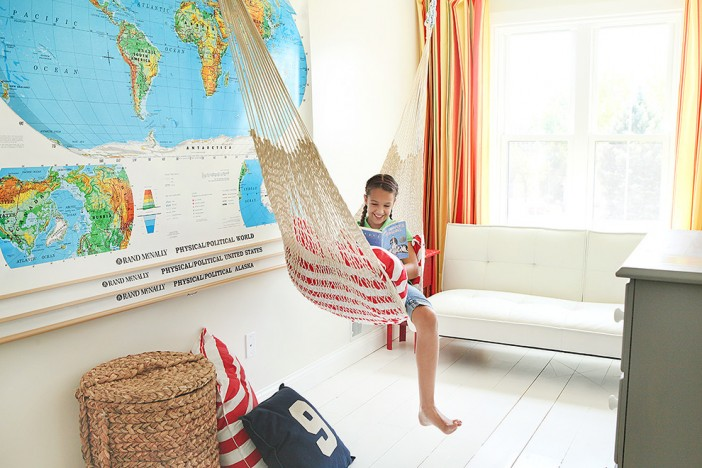 hammock for the kids room