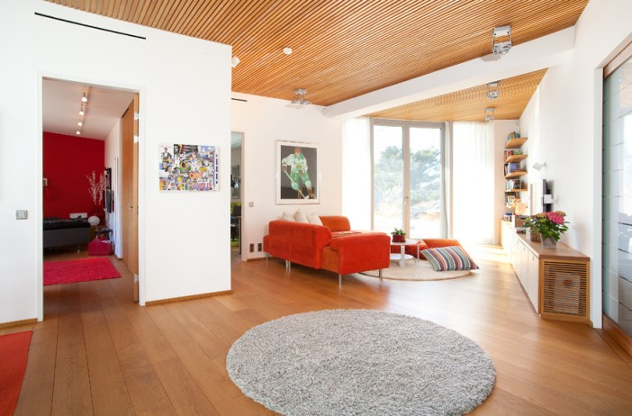 living room design langedragsberg hill modern residence 41