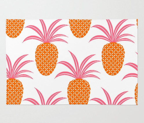 pineapple ananas contemporary rugs by canis picta