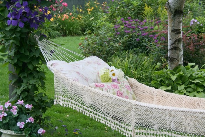 romantic traditional landscape hammock