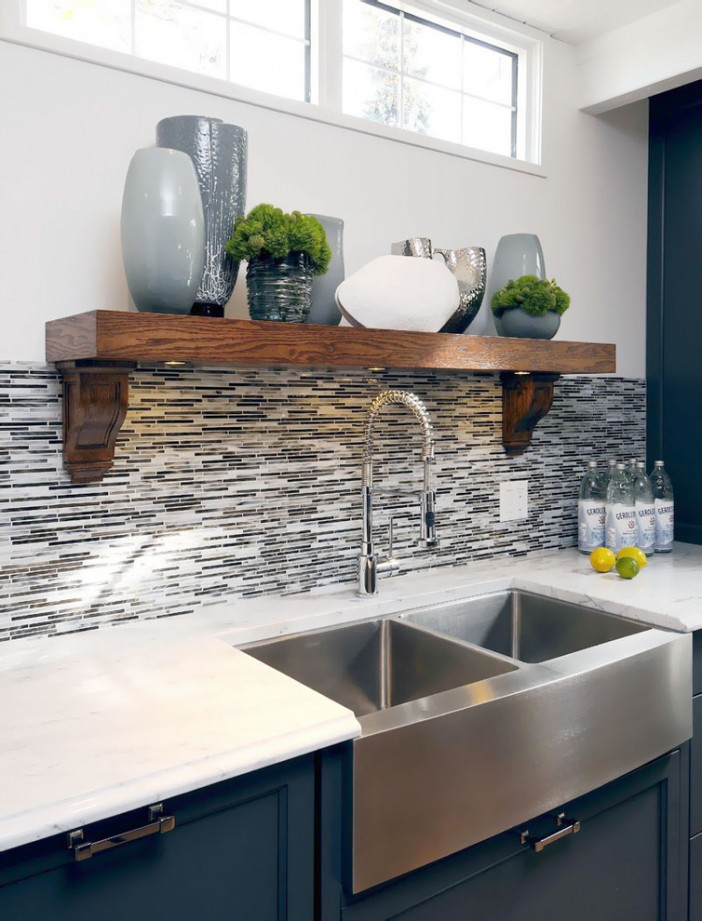stainless steel sink for transitional kitchen