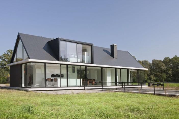 exterior design villa geldrop in the netherlands 01