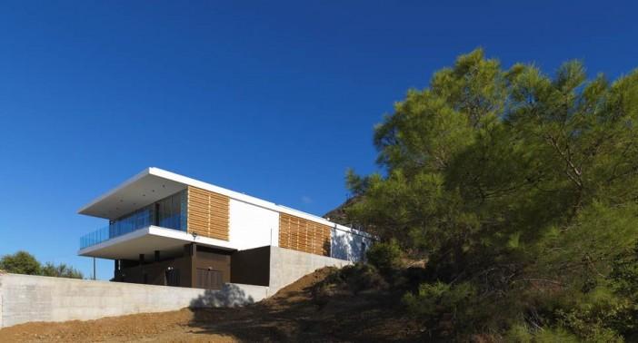 exterior design zephyros villa in pomos 01