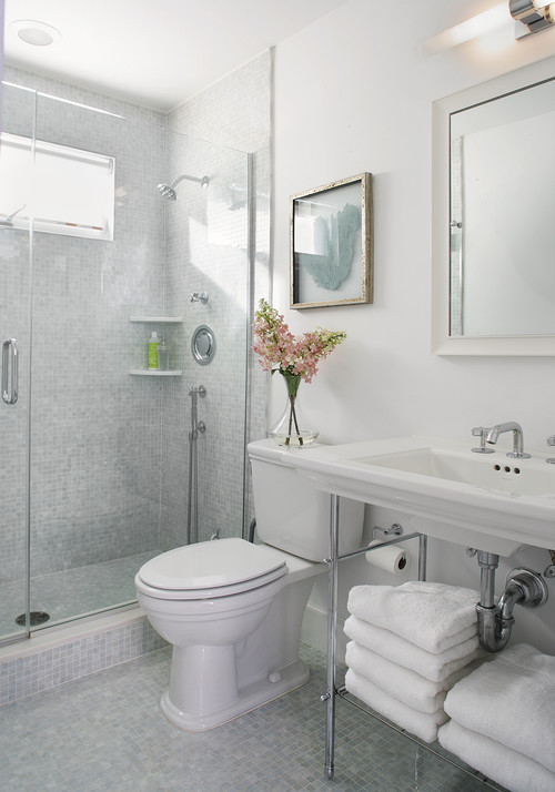 Top Ways To Make Small Bathroom Look Bigger Interior