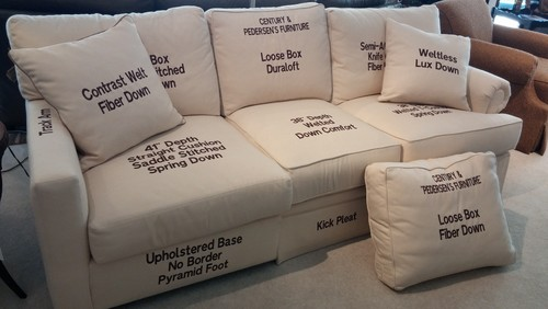The Ideal Sofa Cushion The Basic Types And A Guide On