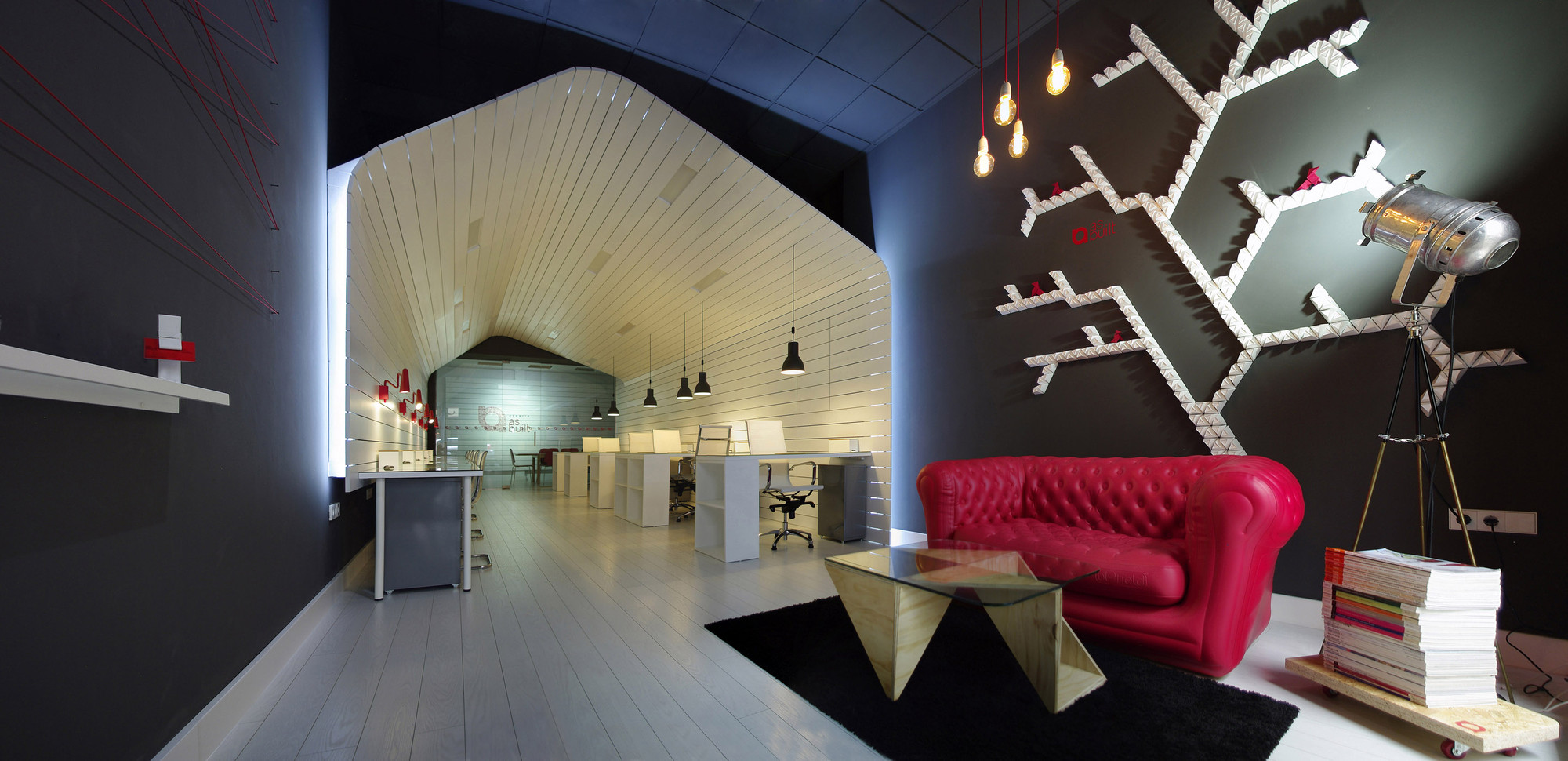 office for design and architecture. The Office For Architecture Studio And Coworking Space Designed By As \u2013 Built In Spain, Is An Innovative Design Form Function Using Contrasting
