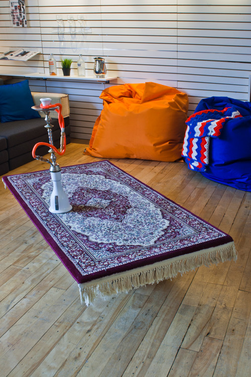 Superb Flying Carpet Coffee Table. Contemporary Living Room