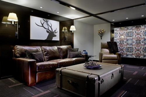 eclectic-basement