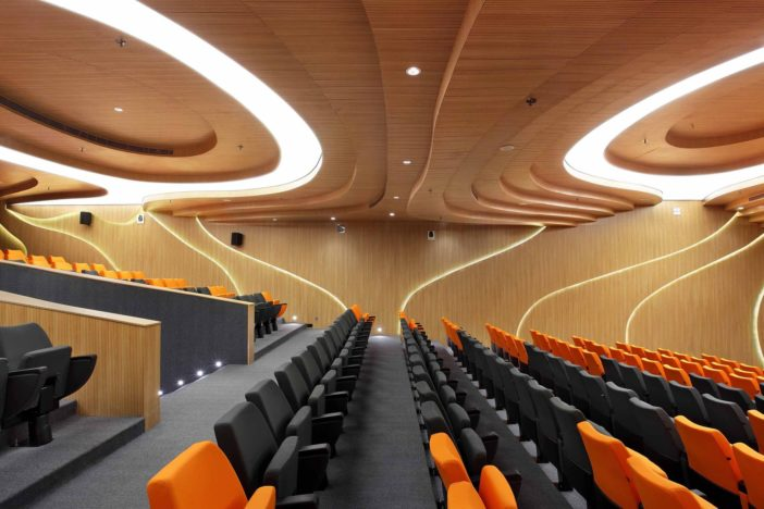 Modern Architectural Design Ideas: M-Auditorium by Planet 3 Studios Architecture, India ...