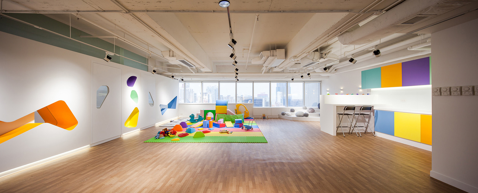 Modern Design Ideas for Play School: The BabySteps Interior by ...