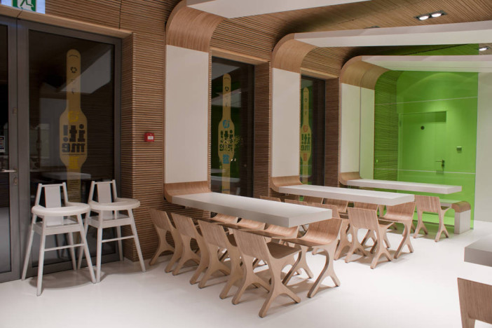 Eco friendly architectural design ideas for a restaurant
