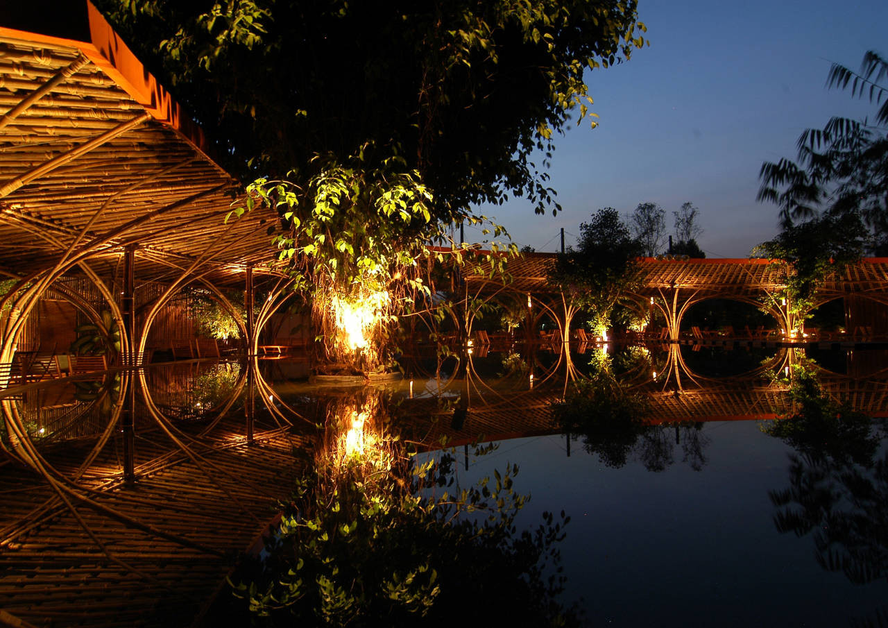 eco-friendly design ideas for cafe: the wnw cafevo trong nghia