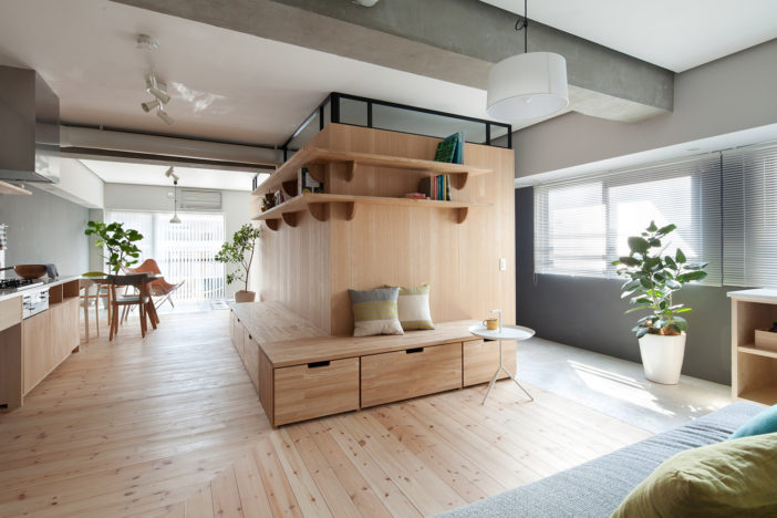 Fujigaoka M An Apartment In The Frenzied Streets Of Yokohoma Is Awe Inspiring And Resourceful Design By Sinato Japan It Stands Transformed Into