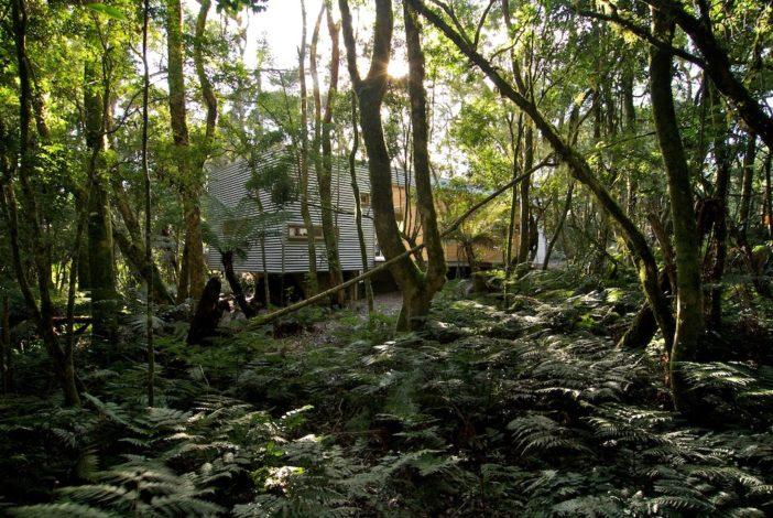 Residencia em Sao Francisco de Paula, Rio Grande do Sul. Projeto do arquiteto Luciano Andrades.