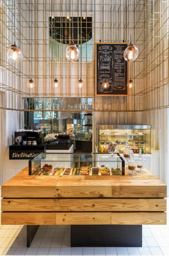 Modern Architectural Design Ideas For Bakery The Shenzhen Deli In China By Linehouse Interior