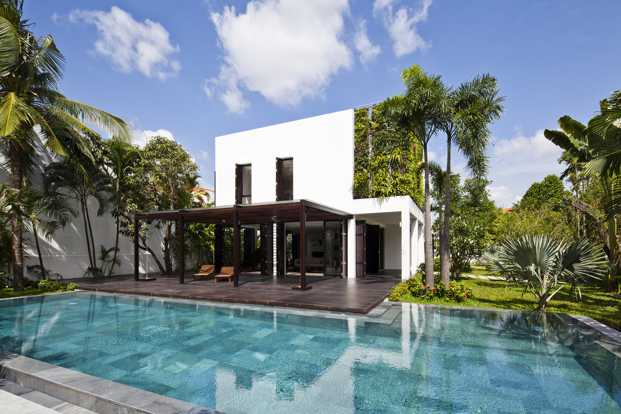 Eco Friendly Design Ideas For Home Thao Dien House In Vietnam By Mm
