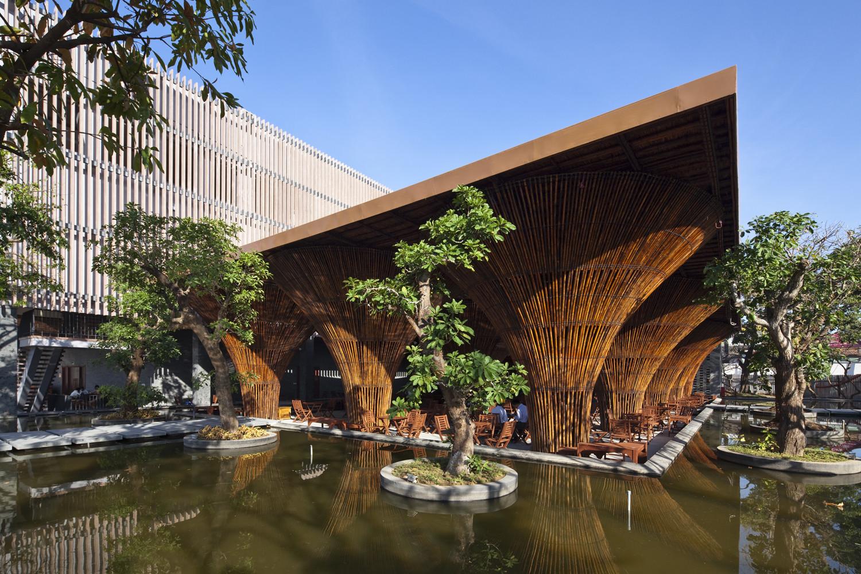 stunning architectural design ideas for cafe: kontum indochine